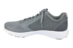 Un Gray Sneaker Photos libres de droits