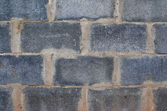 Un grey ostruisce la parete Fotografie Stock
