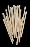 Un groupe d'allumettes en bois image stock