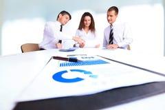Un groupe d'hommes d'affaires réussis Image stock
