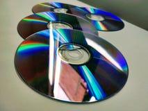 Un groupe de disques de enregistrement photo libre de droits