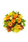 Un groupe de fleurs Images stock