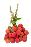 Un groupe de fruits de Lychee Images stock