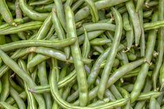 Un groupe de haricots verts images stock