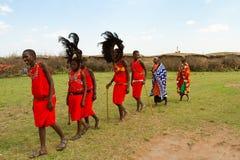 Un groupe de kenyan Photographie stock