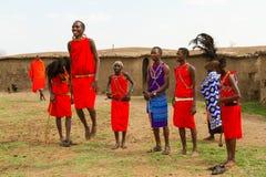 Un groupe de kenyan Images libres de droits