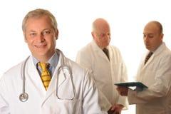 Un groupe de médecins Image libre de droits