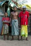 Un groupe de musulmans chez Pottuvil dans Sri Lanka Photographie stock