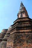 Un groupe de pagoda antique. photos stock