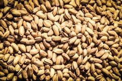 Un groupe de pistaches Image stock
