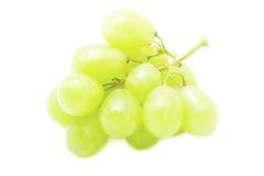 Un groupe de raisin vert Photographie stock