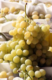 Un groupe de raisins blancs Image libre de droits