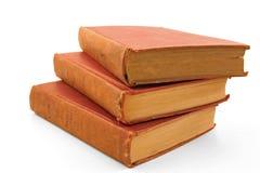 Un groupe de vieux livres Image libre de droits