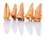 Un groupe du biscuit chinois II de lettre d'amour Photographie stock libre de droits