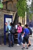 Estudiantes de Oxford Fotografía de archivo