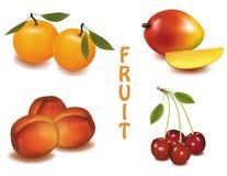 Un grupo de fruta. Foto de archivo libre de regalías