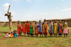 Un grupo de mujeres del kenyan Fotografía de archivo