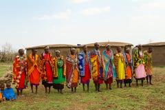 Un grupo de mujeres del kenyan fotografía de archivo libre de regalías