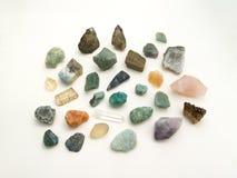 Un grupo de piedras preciosas Imágenes de archivo libres de regalías