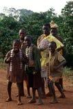 Un gruppo di bambini nel Burundi Immagini Stock Libere da Diritti