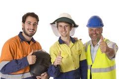 Un gruppo felice del lavoro immagine stock libera da diritti