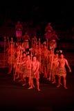 un haka del 2311 danzatore maori Immagini Stock Libere da Diritti