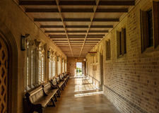 Un hall à l'intérieur du bâtiment de la cathédrale de St Edmunds d'enfouissement Images stock