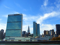 UN Headquarters, Manhattan, New York Royalty Free Stock Photography