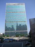 UN Headquarters,  New York Royalty Free Stock Photography