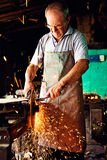 Un herrero Fotografía de archivo libre de regalías