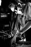 Un herrero Foto de archivo libre de regalías