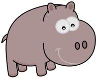 Un hipopótamo de la historieta Fotografía de archivo libre de regalías
