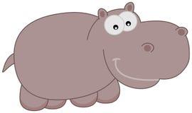 Un hipopótamo feliz Fotos de archivo