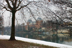 Un hiver à Turin Photo libre de droits