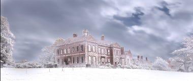 Un hiver de Dudmaston photographie stock