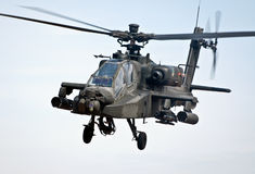 Hélicoptère militaire Images stock