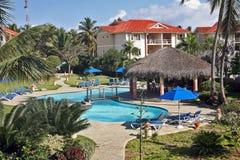Un hogar ideal en el Caribe Imagen de archivo