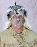 Un hombre de montaña en Helldorado, piedra sepulcral, Arizona Fotos de archivo libres de regalías