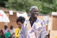 Un hombre feliz Imágenes de archivo libres de regalías