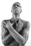 Un hombre sucio Imagen de archivo