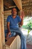 Un homme hospitalier Photo libre de droits