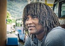 Un homme indigène local photo stock
