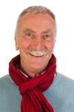 Un homme plus âgé recherchant Images stock