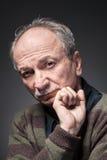 Un homme plus âgé Photos libres de droits