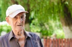 Un homme supérieur plus âgé Image stock