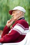 Un homme supérieur plus âgé Images stock