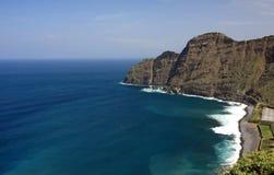 Un horizontal étonnant de La Gomera Images stock
