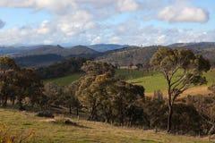 Un horizontal rural. NSW. l'Australie. image libre de droits