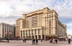 Un hotel Mosca di quattro stagioni Fotografia Stock Libera da Diritti