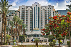 Un hotel popolare di cinque stelle  Fotografia Stock Libera da Diritti